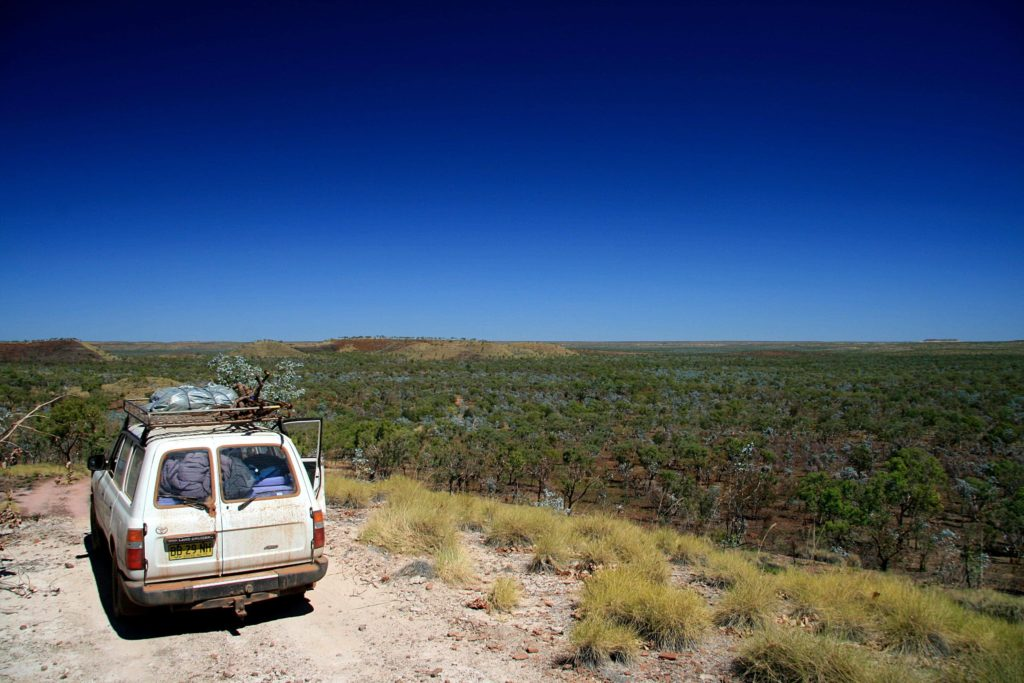 Landcruiser offroad Australia Gregory National Park