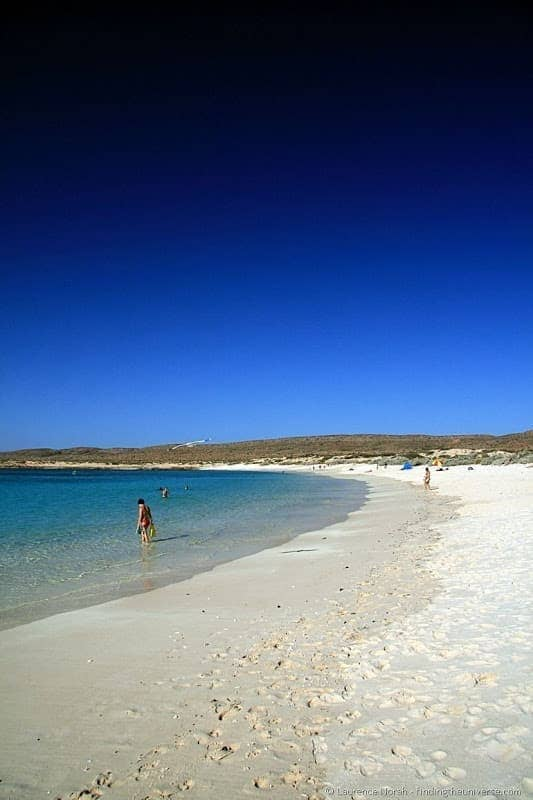 Beach of Turquoise Bay, Ningaloo Reef, Western Australia