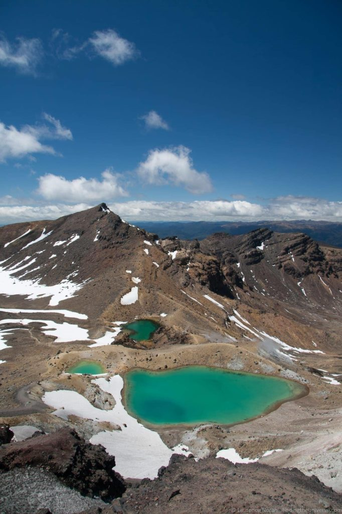Tongariro Crossing New Zealand - Emerald Lakes