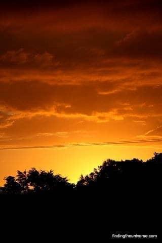 Sunset over Coromandel