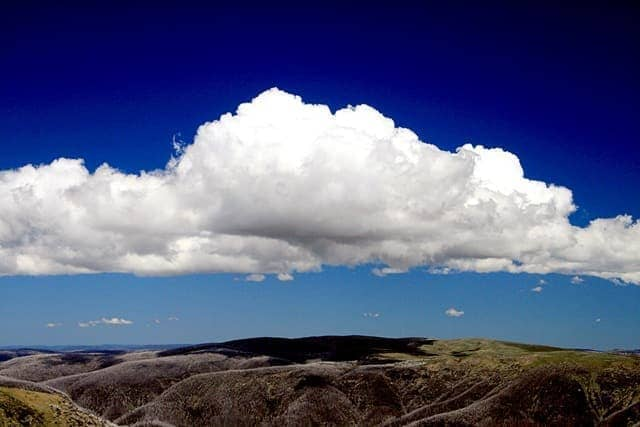 Clouds on Mount Bogong - Victoria - Australia