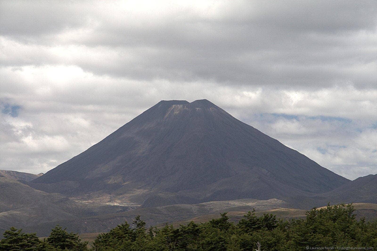 Mount Ngauruhoe at 85mm
