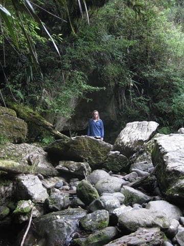 Okupata Cave Entrance