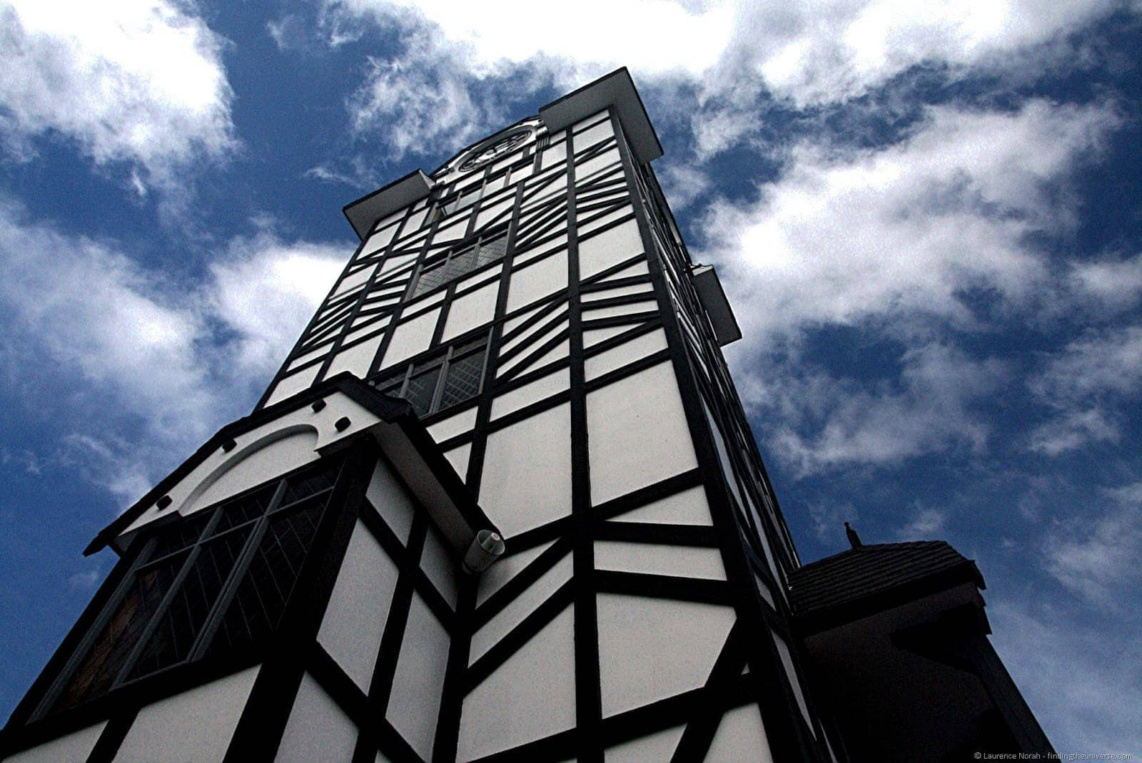 Glockenspiel tower Stratford New Zealand