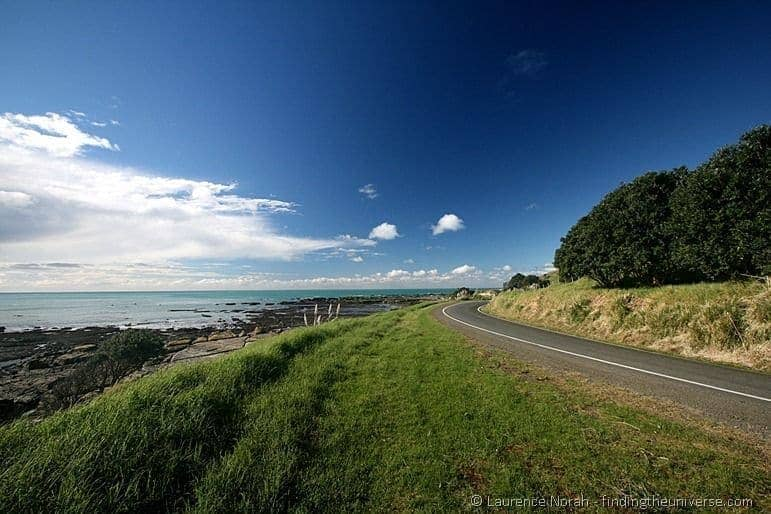 Road to the East Cape Lighthouse