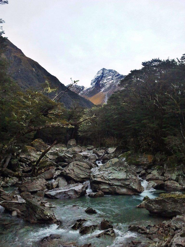 River to Rob Roy Glacier