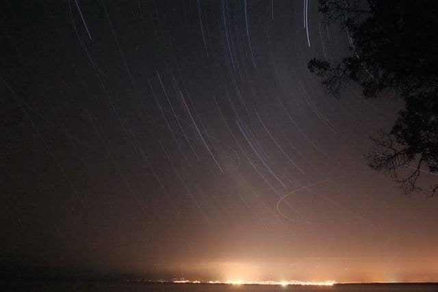 Stars wheeling over Nelson