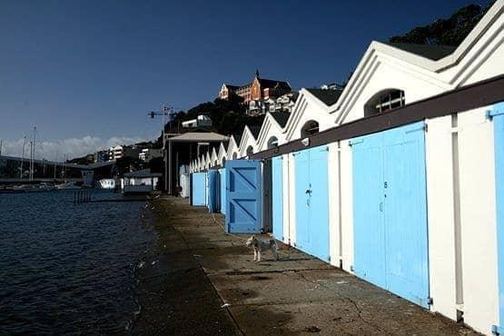 Boat sheds Wellington 2