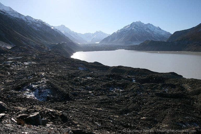 Tasman Glacier and Mount Cook