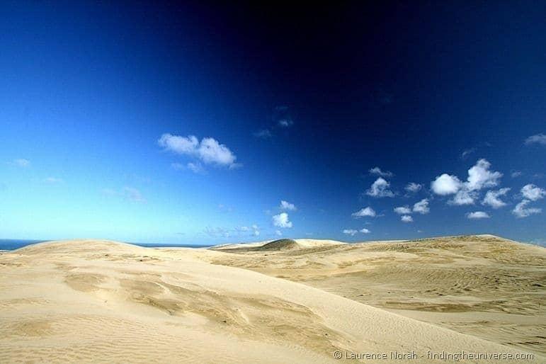 Sand dunes Te Paki