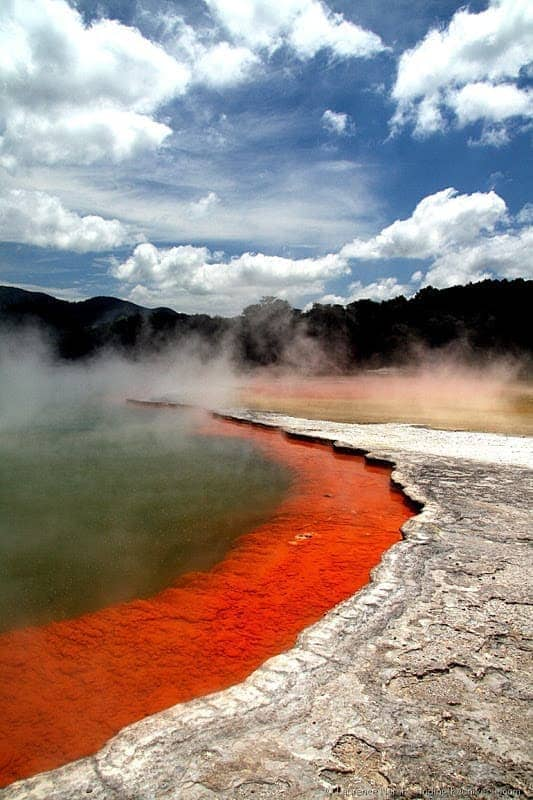 Champagne Pool - Wai-o-tapu thermal wonderland - Rotorua 2