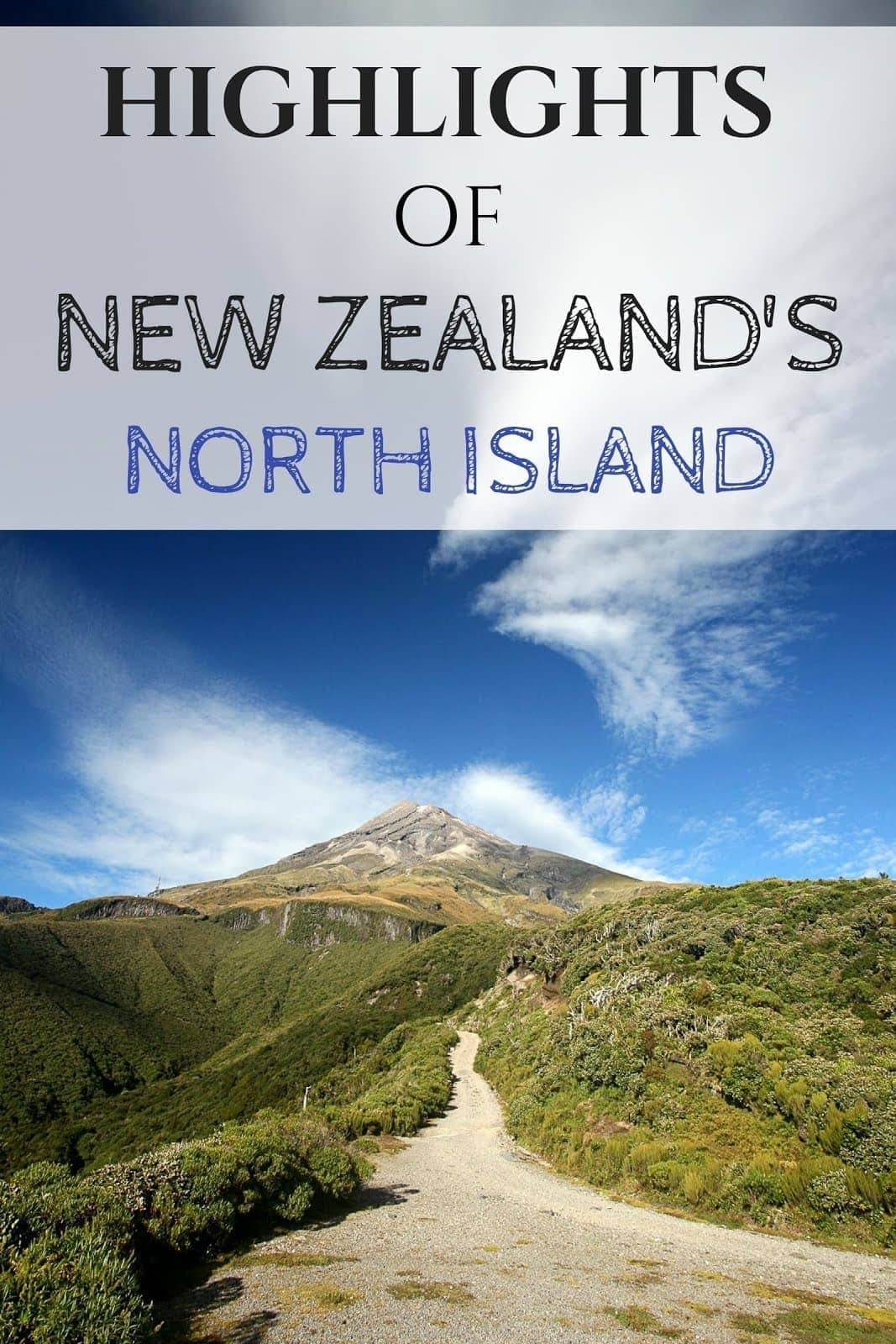 Highlights of New Zealand's north island, including Rotorua, Tongaririo, the East Cape and Northland.