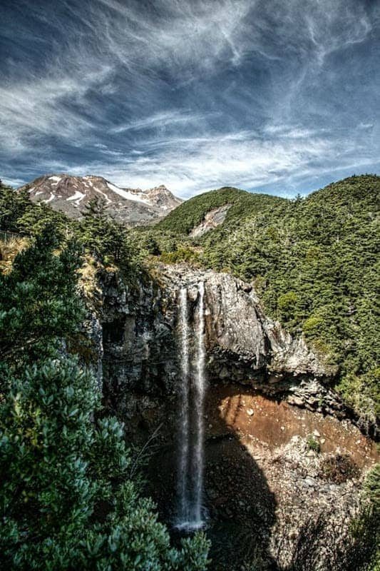 Mangawhero Falls HDR 1
