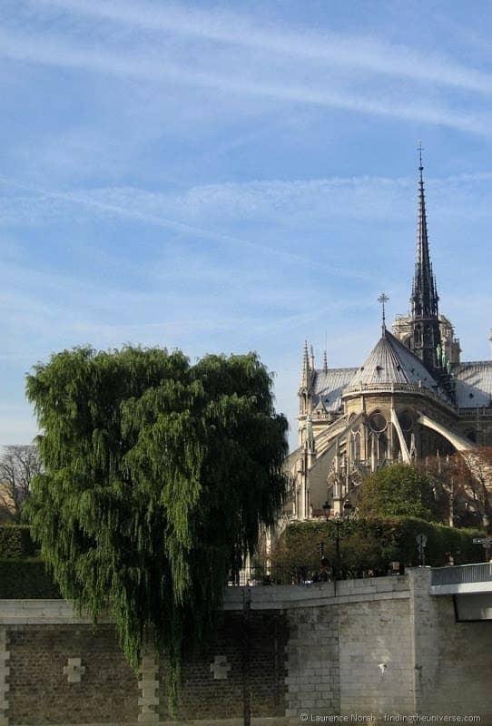 Highlights of Paris Notre Dame de Paris buttresses
