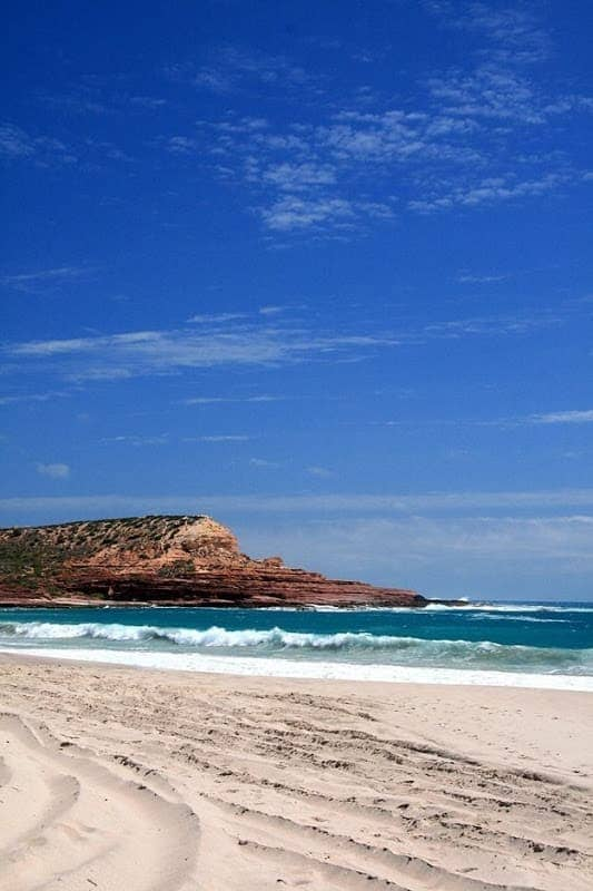 Beach and headland Kalbarri