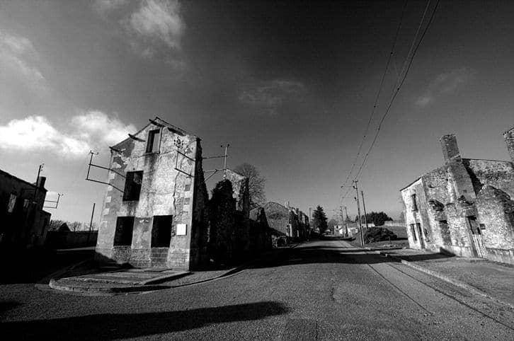 Oradour Sur Glane street