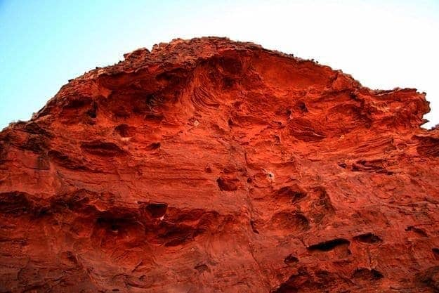 Kings Canyon red Rock formation 2