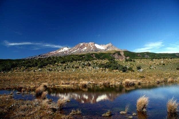 Mount Ruahepu - New Zealand