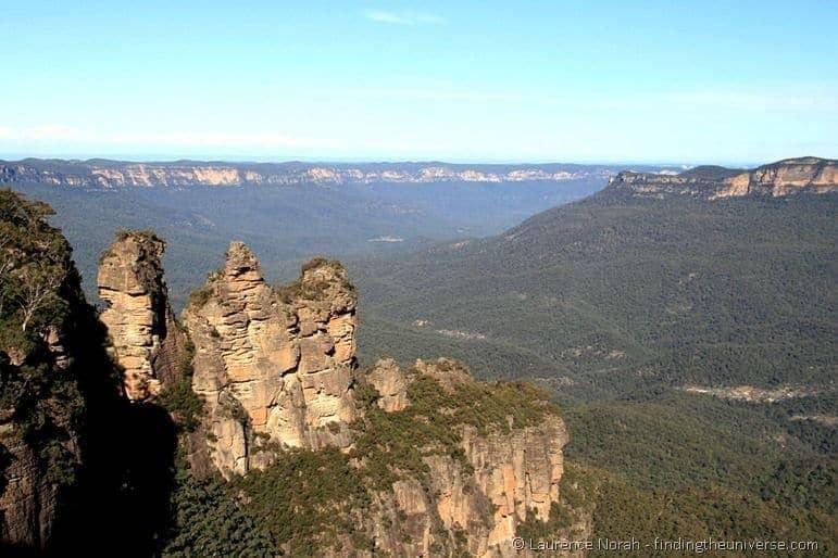 Blue mountains three sisters Australia