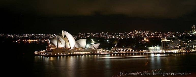 Sydney opera house at night - New South Wales - Ausralia