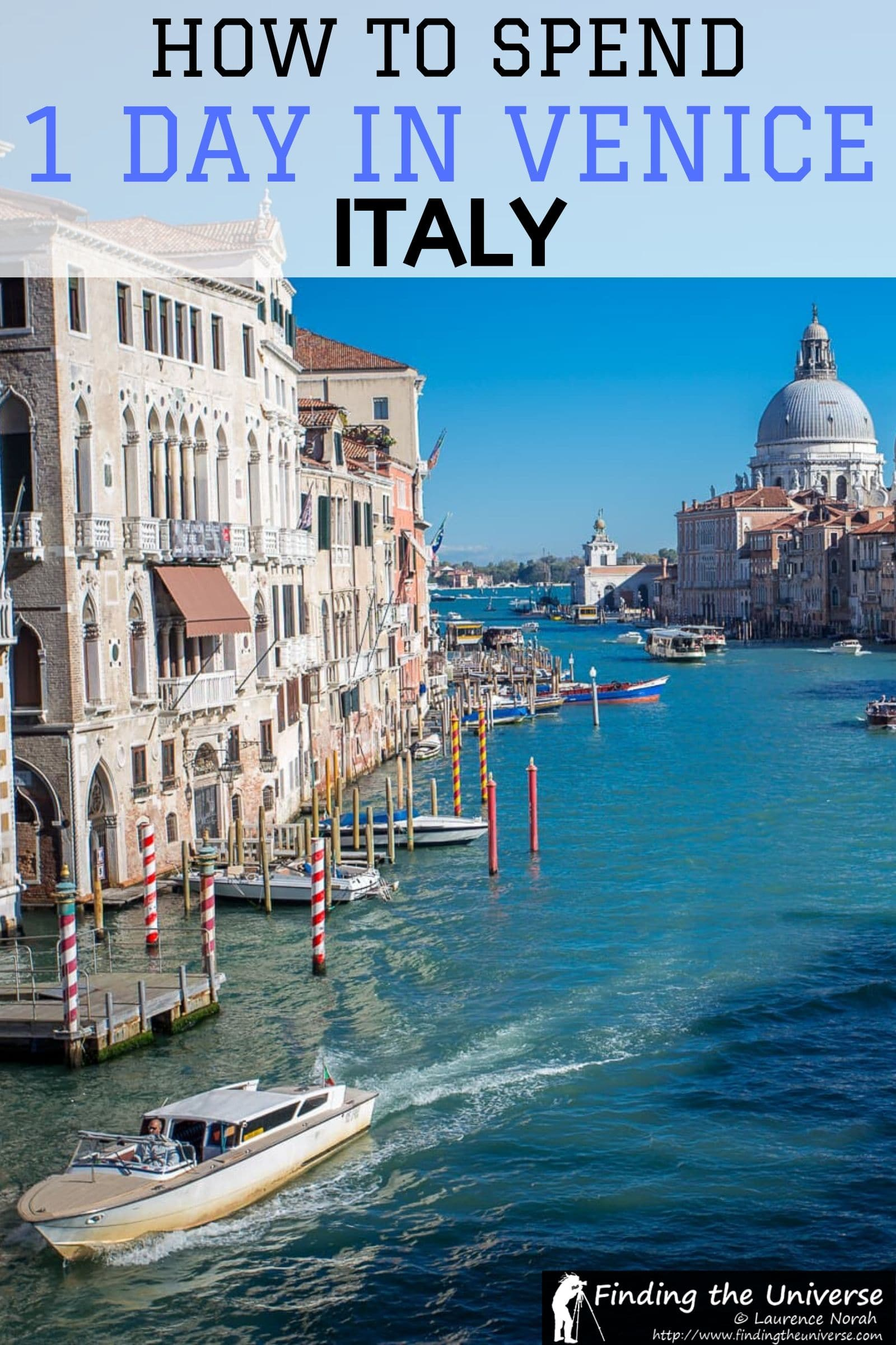 Italy's Venice - one of the worlds most amazing cities. This guide tells you everything you need to know to plan the perfect one day in Venice