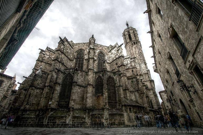 Gothic Quarter Church Barcelona 2