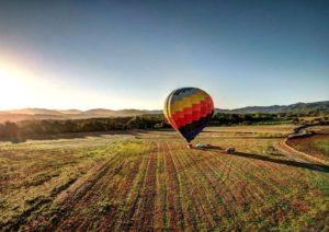 Ballooning in Costa Brava