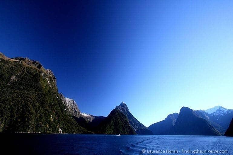 Mitre Peak in Milford Sound