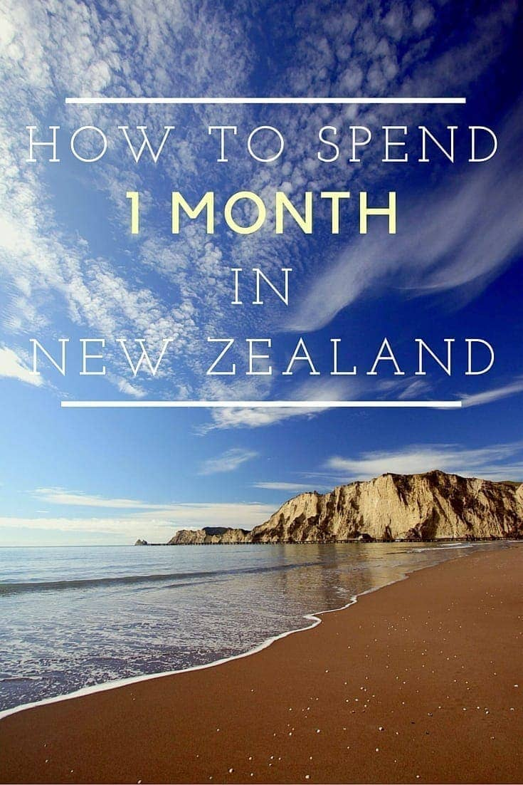 the perfect one month new zealand itinerary finding the. Black Bedroom Furniture Sets. Home Design Ideas