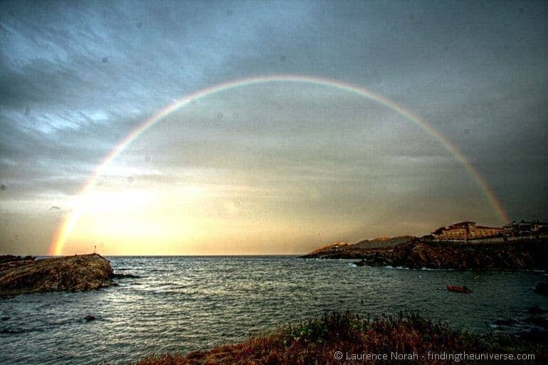 Rainbow sunset 1 edited