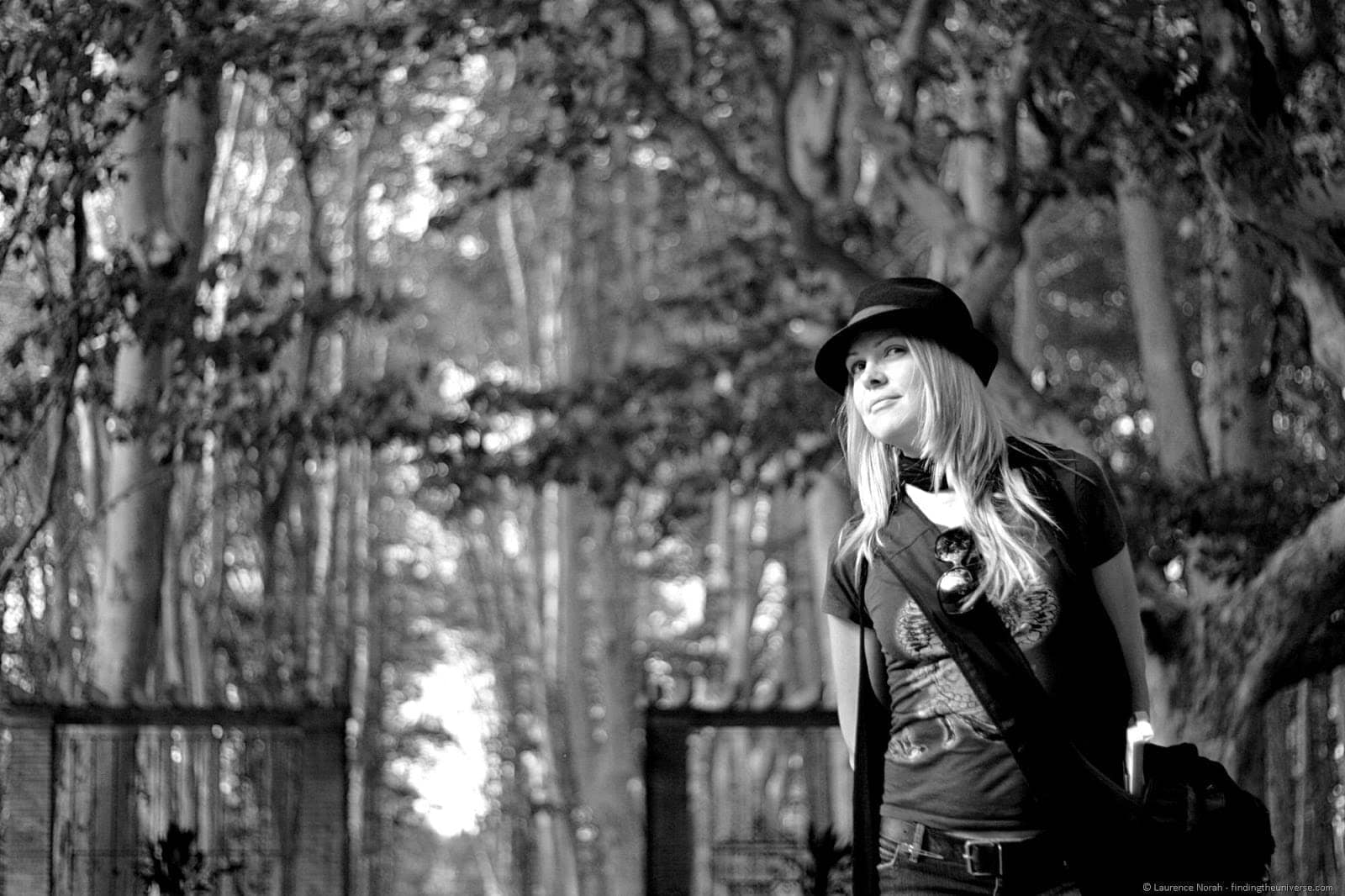 Vera at tbex girona garden