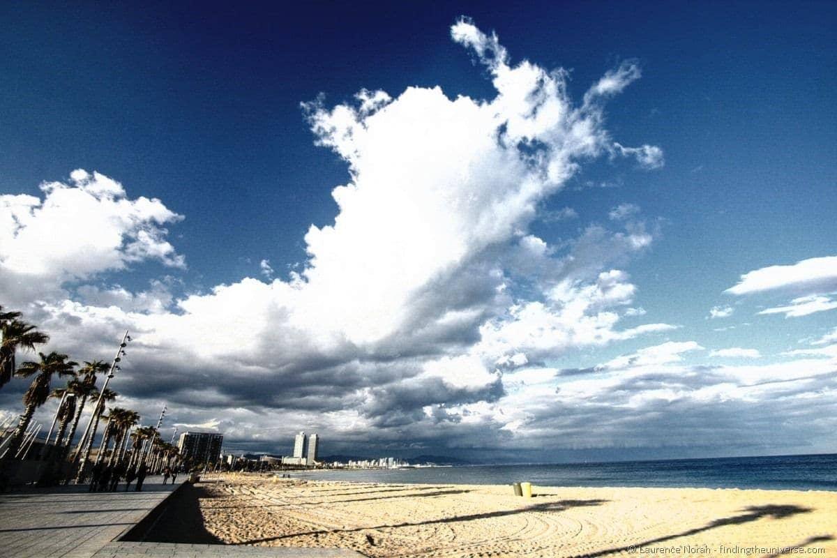 Barcelona Beach filtered HDR (Custom)