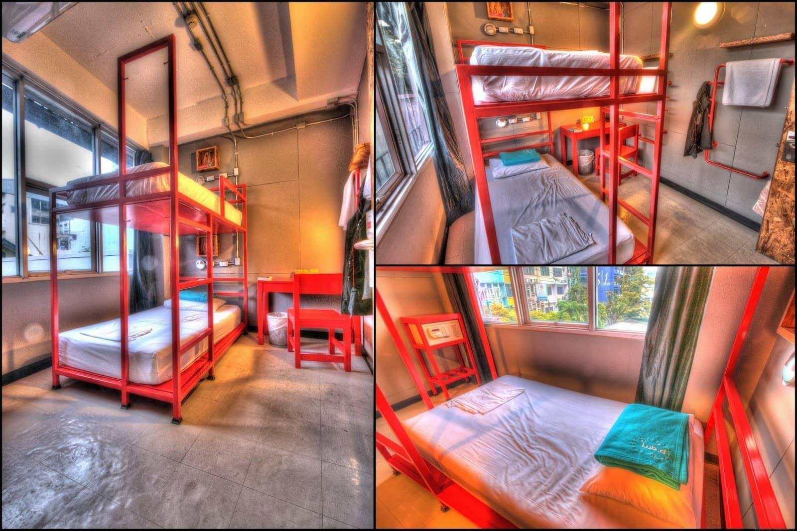 Lub d Bangkok Thailand Railay twin room