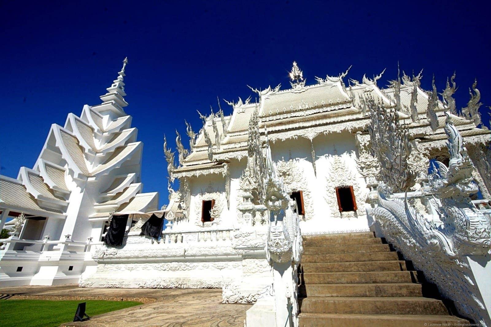 Chiang Rai White temple Wat Rong Khun Thailand