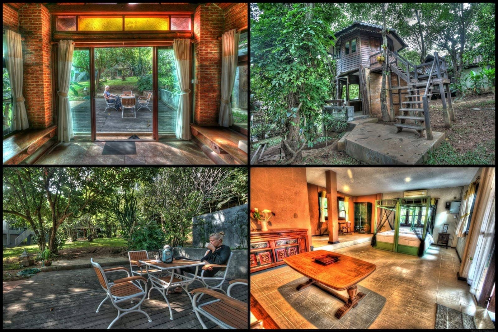 Chiang Mai Viva city homestay review collage