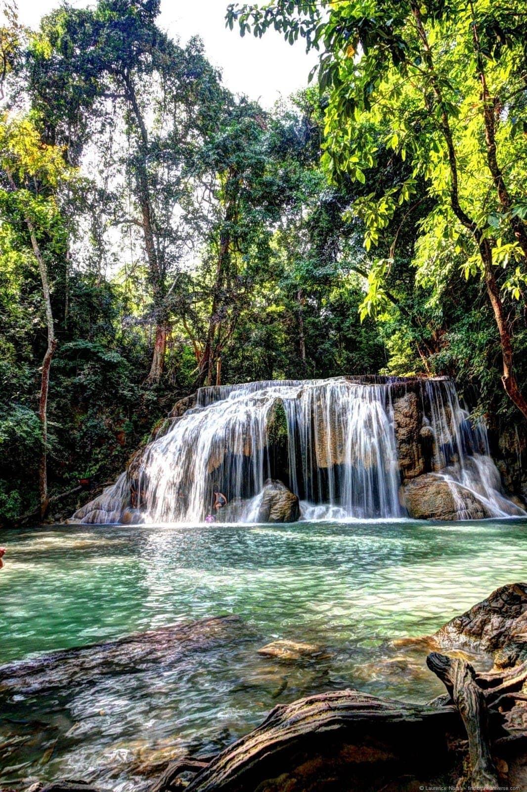 Erawan Falls 1 HDR