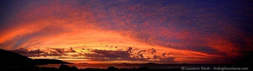 Sunset Cape le Grand