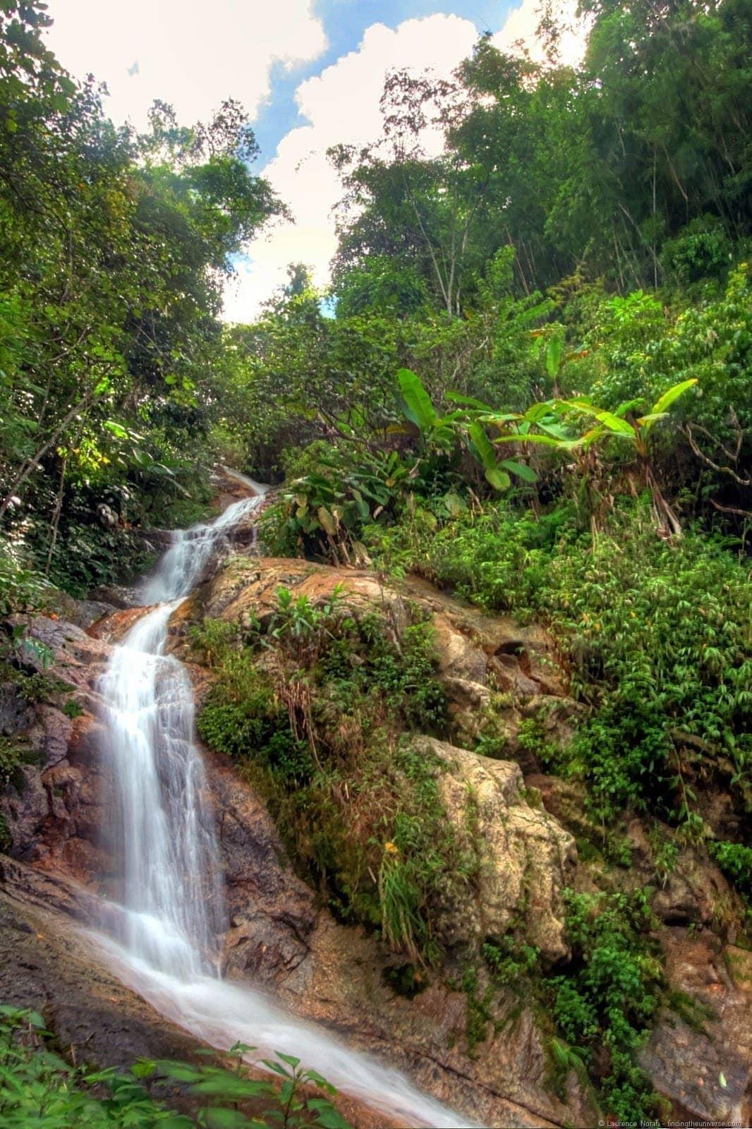 Waterfall flight of the gibbon chiang mai thailand