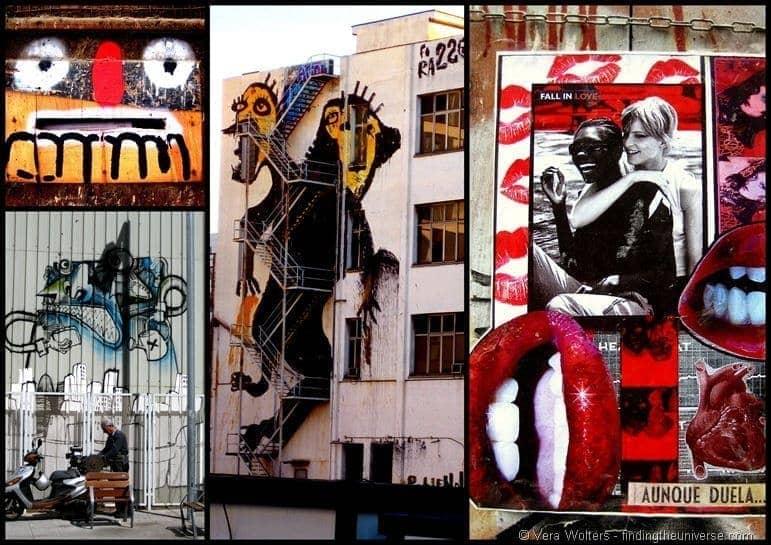 Crazy street art Barcelona