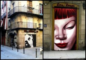 The street art of Barcelona