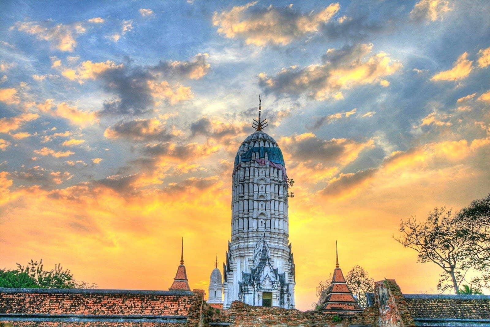 Wat Buddhaisawan Ayutthaya Thailand Prang