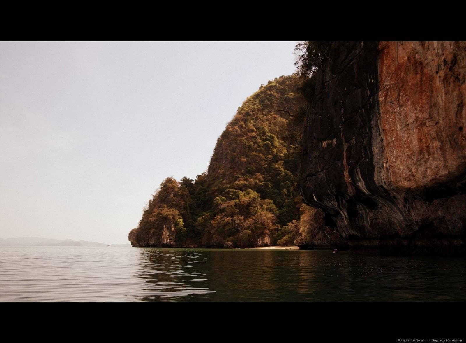Canoeing get your guide Phang Nga James Bond Thailand