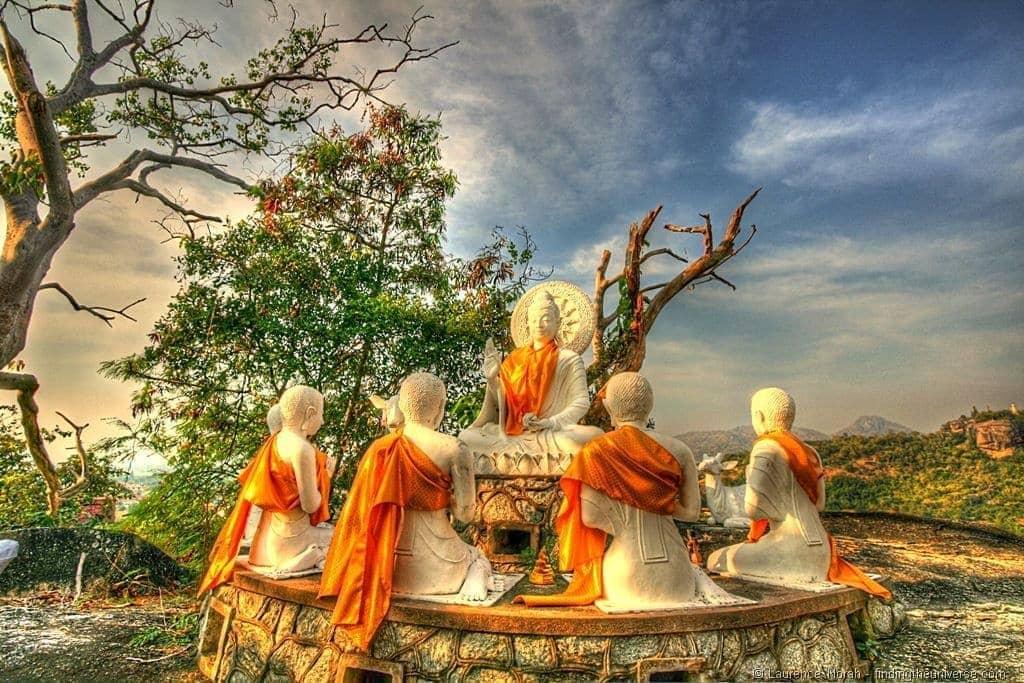 Hua Hin buddha statues hill