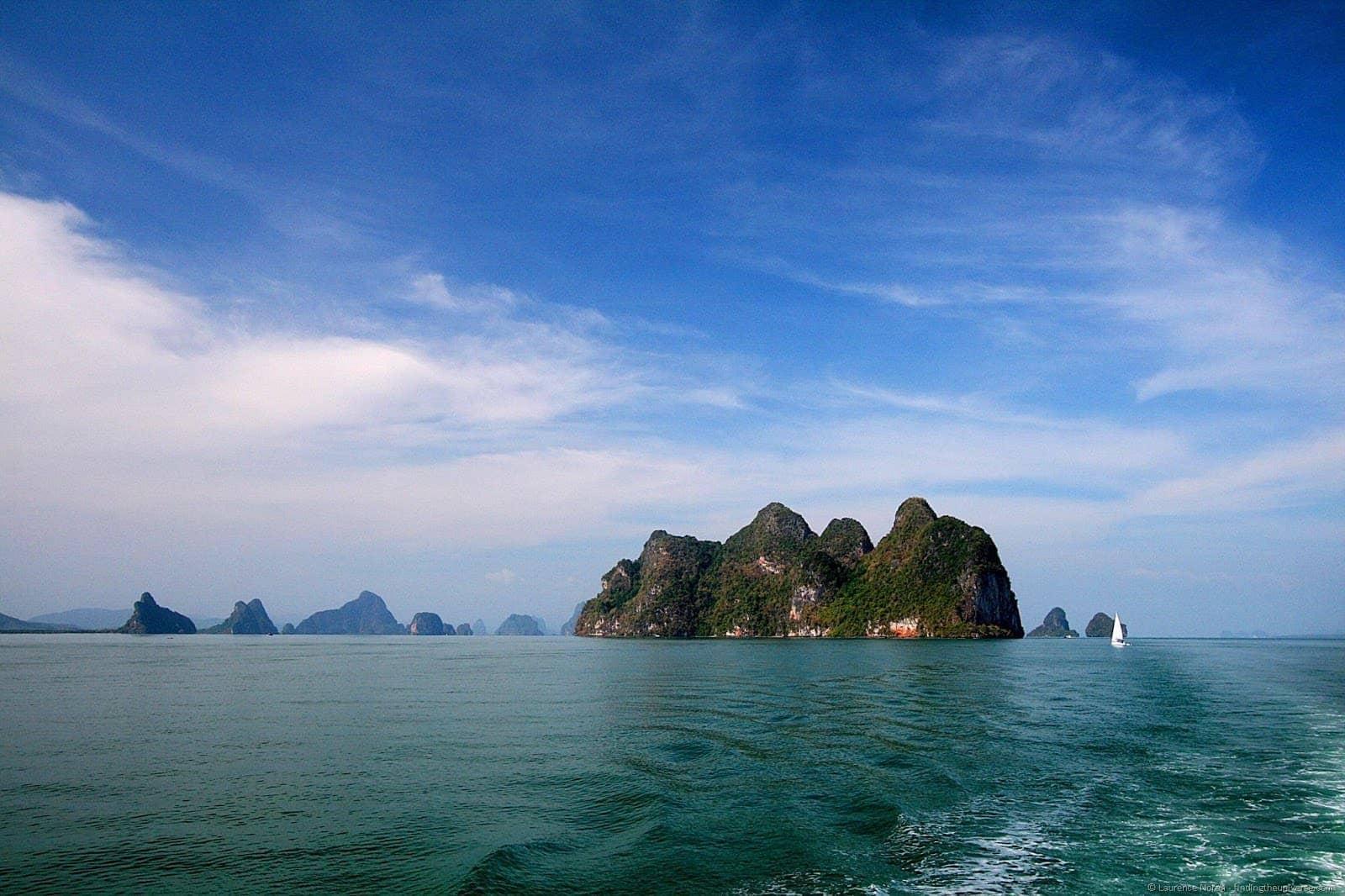 Islands of Ao Phang Nga National Park Thailand