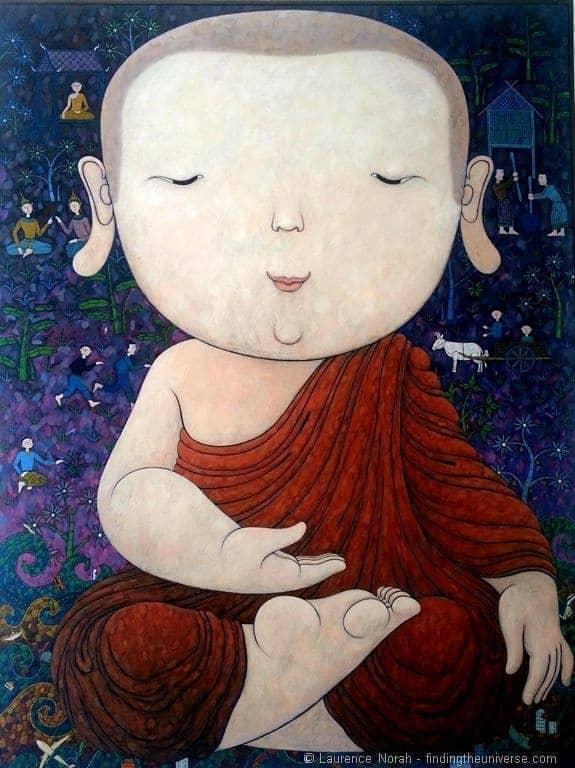 Nern chalet buddha poster