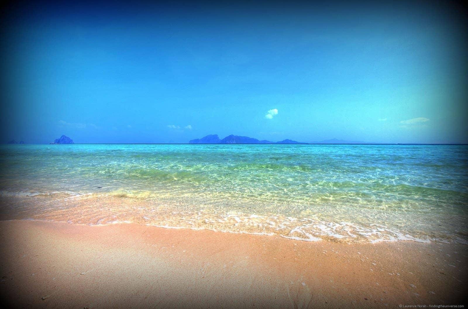 Beach Koh Kradan Island Thailand