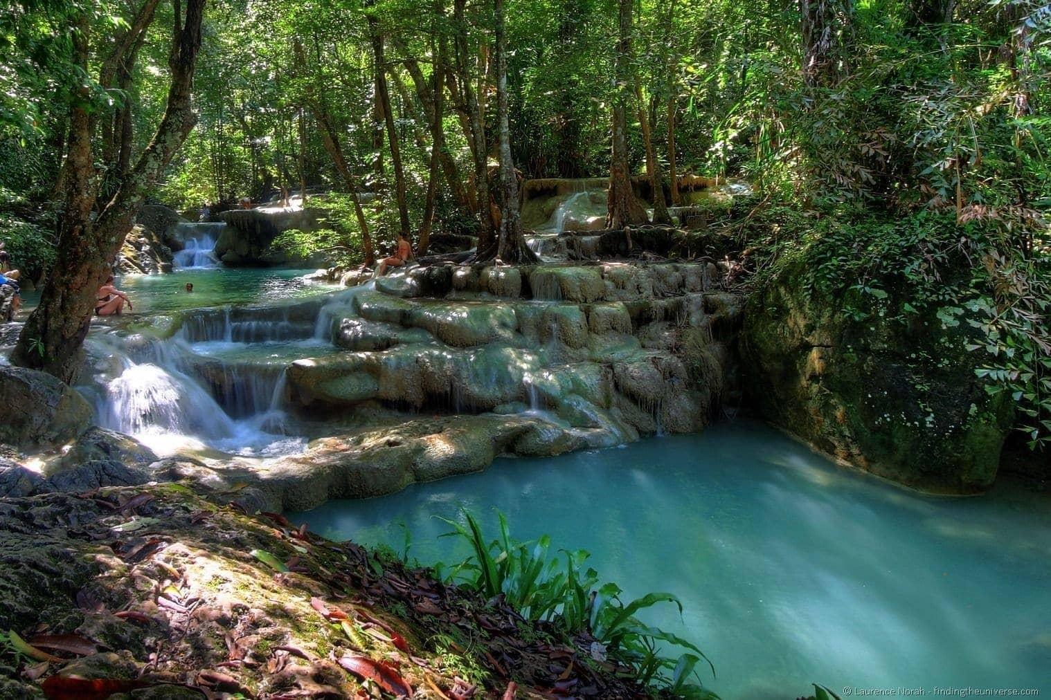 Erawan Falls 2 HDR