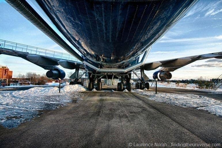 Jumbo stay belly 747 underneath hostel sweden stockholm