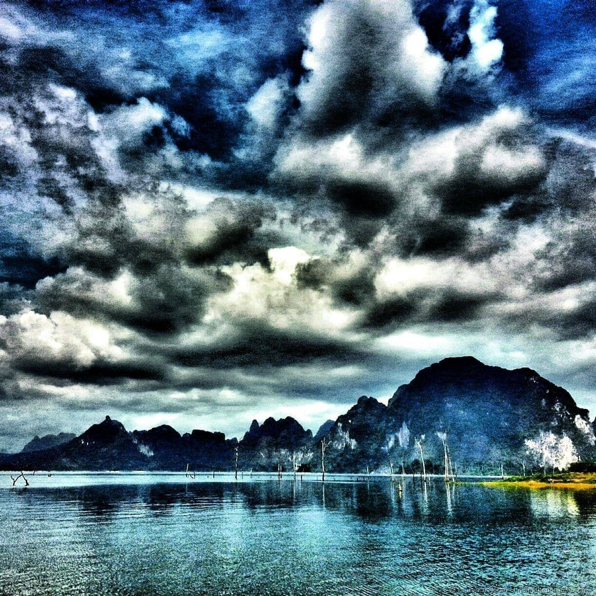 Lake Khao Sok National park Thailand