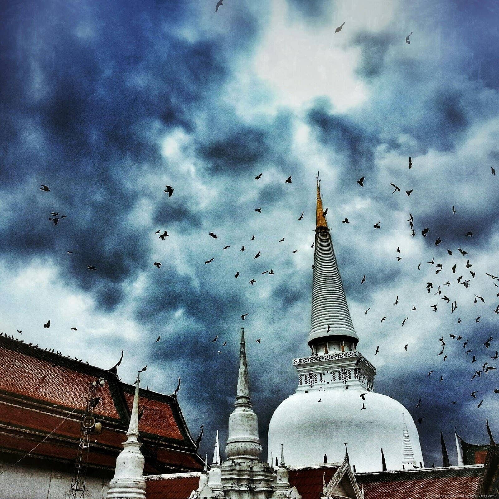 Nakhon si Thammarat Wat Phra Maha That Woramaha Wihan